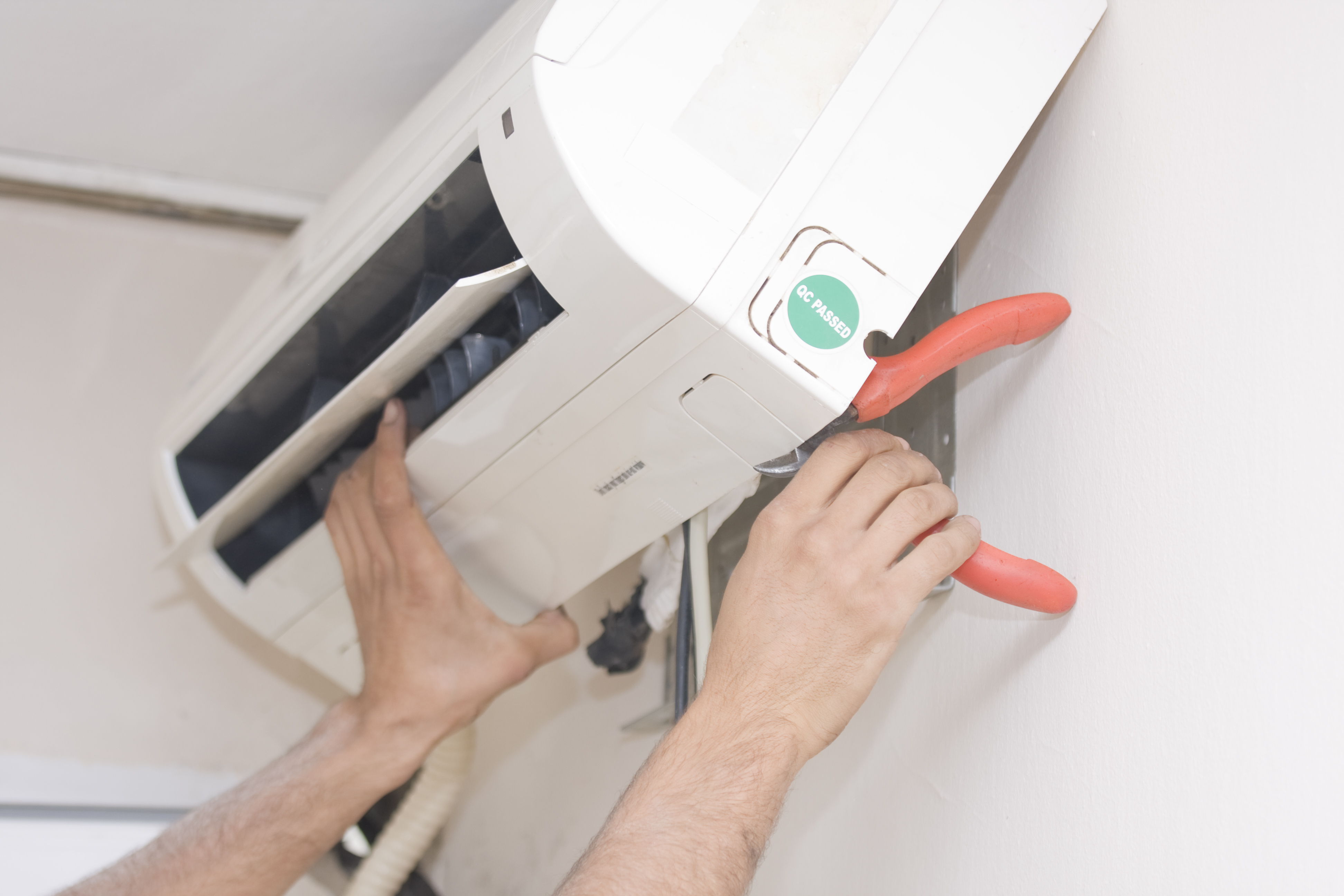 Installation of air conditioners 98